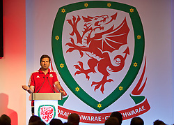 NEWPORT, WALES - Sunday, May 22, 2016: João Talhão during the Football Association of Wales' National Coaches Conference 2016 at the Celtic Manor Resort. (Pic by David Rawcliffe/Propaganda)