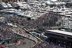 May 26, 2018 - Monte Carlo, Monaco - Motorsports: FIA Formula One World Championship 2018, Grand Prix of Monaco, ..#5 Sebastian Vettel (GER, Scuderia Ferrari), #8 Romain Grosjean (FRA, Haas F1 Team) (Credit Image: © Hoch Zwei via ZUMA Wire)