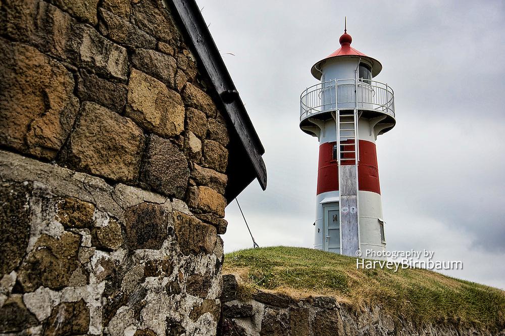 Bordan lighthouse, Scansin guns, Guns_Torshavn Faroe Islands 7_12_09