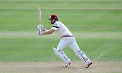 Somerset's James Hildreth flicks the ball. Photo mandatory by-line: Harry Trump/JMP - Mobile: 07966 386802 - 25/05/15 - SPORT - CRICKET - LVCC County Championship - Division 1 - Day 2- Somerset v Sussex Sharks - The County Ground, Taunton, England.