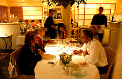 KNOKKE, BELGIUM - JULY-29-2005 -  Esmeralda next to the casino in Knokke, is a One Star Michelin restaurant. (Photo © Jock Fistick)