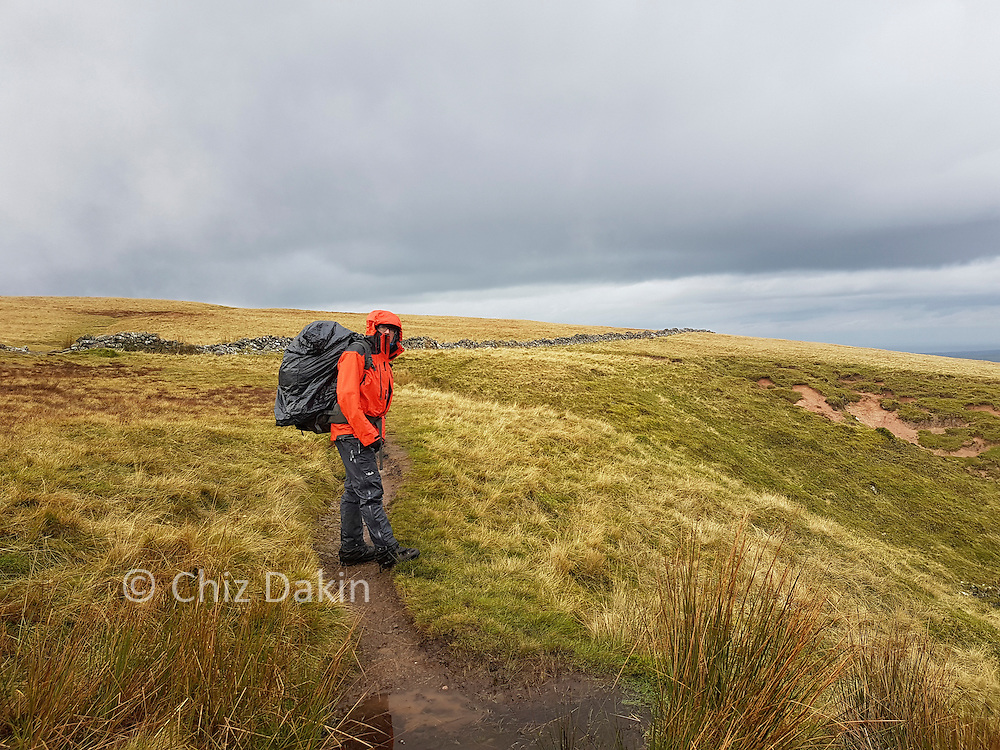 The short rise up to Irton Fell