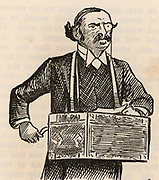 Ellis Ashmead-Bartlett (1849-1902) English Conservative politician born in America. Member of Parliament for Eye, Suffolk (1880-1885) and Sheffield Ecclesall (1885-1902). Advocate of British imperialism.  Engraving from 'The Strand Magazine' (London, 1893).