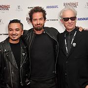 David Martiner, Will Kemp and Elliot Grove attends Raindance Film Festival Gay Times Gala screening - George Michael: Freedom (The Director's Cut) London, UK. 4th October 2018.