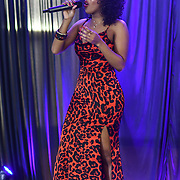 Shaneen Angeles performs at SMGlobal Catwalk - London Fashion Week F/W19 at Clayton Crown Hotel,  Cricklewood Broadway, on 1st March 2019, London, UK.