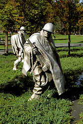 DC: Washington, DC Monuments, Korean War Veterans Memorial        .Photo Copyright Lee Foster, lee@fostertravel.com, www.fostertravel.com, (510) 549-2202.Image washdc219