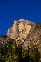 Half Dome, Yosemite Valley, Yosemite National Park, California USA.