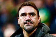 Norwich City Head Coach Daniel Farke during the EFL Sky Bet Championship match between Norwich City and Barnsley at Carrow Road, Norwich, England on 18 November 2017. Photo by Phil Chaplin.