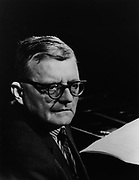 Dmitri Shostakovich 1906 – 1975. Soviet composer and one of the most celebrated composers of the 20th century.