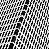 B&W - Geometric Abstraction Distraction