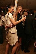 NINA ALEX AND ISOBEL HYDE, Tatler Summer party. Home House. Portman Sq. London. 27 June 2007.  -DO NOT ARCHIVE-© Copyright Photograph by Dafydd Jones. 248 Clapham Rd. London SW9 0PZ. Tel 0207 820 0771. www.dafjones.com.