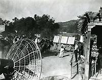1935 Filming at Mascot Studios