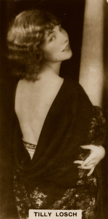Tilly Losch (1903-1975) Austrian-born dancer, actress andpainer.