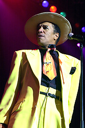 Opening night of the Best Disco In Town tour with Kid Creole at Sheffields Hallam FM Arena<br /> 4 October 2003 .<br /> <br /> image copyright Paul David Drabble