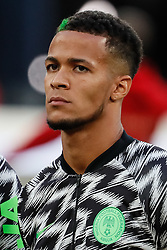 June 26, 2018 - Saint Petersburg, Russia - William Ekong of Nigeria national team during the 2018 FIFA World Cup Russia group D match between Nigeria and Argentina on June 26, 2018 at Saint Petersburg Stadium in Saint Petersburg, Russia. (Credit Image: © Mike Kireev/NurPhoto via ZUMA Press)