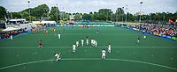 ALKMAAR - Hockey - clubhuis, HC Alkmaar,  toeschouwers, reclameborden, reclame,   Nederland-Spanje (2-0) heren  . Rabo Super Serie.  COPYRIGHT KOEN SUYK