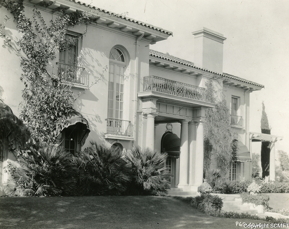 1930 Cecil B. DeMille's home in Laughlin Park