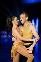 Dancing on Ice Photocall Sheffield Motorpoint Arena .Hayley Tamaddon and Daniel Whiston..7 April 2011.Images © Paul David Drabble
