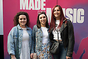 26/6/19 Hannah Cawley, Westport, Shauna McGirl, Roscommon and Lorna Dwyer, St Margarets at the launch of the Black Bank Folks new album Last Star Fall, at Lost Lane, Dublin, available in store and online from June 28th. Picture: Arthur Carron