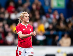 Paige Randall of Wales<br /> <br /> Photographer Simon King/Replay Images<br /> <br /> Six Nations Round 1 - Wales Women v Italy Women - Saturday 2nd February 2020 - Cardiff Arms Park - Cardiff<br /> <br /> World Copyright © Replay Images . All rights reserved. info@replayimages.co.uk - http://replayimages.co.uk