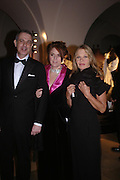 Charles Girardot, Marie Girardot and  Anouska Hempel. Dinner to unveil the Van Cleef & Arpels jewellery collection 'Couture' with fashion by Anouska Hempel Couture. The Banqueting House, Whitehall Palace, London on 8th March 2005.ONE TIME USE ONLY - DO NOT ARCHIVE  © Copyright Photograph by Dafydd Jones 66 Stockwell Park Rd. London SW9 0DA Tel 020 7733 0108 www.dafjones.com