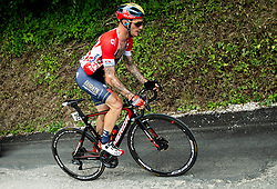 Grega Bole (SLO) of Bahrain - Merida during 3rd Stage of 26th Tour of Slovenia 2019 cycling race between Zalec and Idrija (169,8 km), on June 21, 2019 in Slovenia. Photo by Vid Ponikvar / Sportida