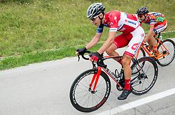 Gorazd Per (SLO) of KK Adria Mobil, Ivan Santaromita (ITA) of Nippo-Vini Fantini during Stage 2 of 24th Tour of Slovenia 2017 / Tour de Slovenie from Ljubljana to Ljubljana (169,9 km) cycling race on June 16, 2017 in Slovenia. Photo by Vid Ponikvar / Sportida