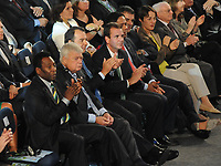 20110730: RIO DE JANEIRO, BRAZIL - Brazilian football legend Pele attending Qualification draw for the 2014 World Cup held at the Marina da Gloria in Rio<br /> PHOTO: CITYFILES