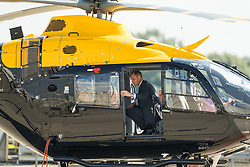 The Duke of Cambridge during a visit to Airbus in Hamburg, Germany.