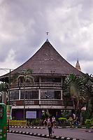 Waterfront restaurant in Kuching, Sarawak.