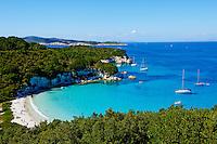 Grece, iles Ioniennes, Antipaxi, palge de Voutoumi // Greece, Ionian island, Antipaxi, Voutoumi beach