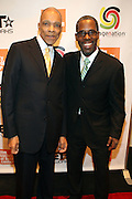 2 December 2010-New York, NY- l to r: Tom Burrell and Gregory Gatesl at the Imagenenation Revolution Awards sponsored by BET Networks and held at the Walter Reade Theater on December 2, 2010 at Lincoln Center in New York City.  Photo Credit: Terrence Jennings