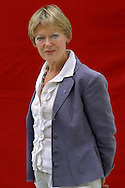 Leading Irish novelist Claire Boylan, pictured at the Edinburgh International Book Festival where he talked about her acclaimed book 'Emma Brown' which is based on Charlotte Bronte's unfinished novel. The Book Festival is the world's biggest literary festival with appearances by over 500 authors from across the world....