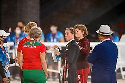 Dufour Cathrine, DEN, Bohemian, 118, Zu Sayn Wittgenstein Nathalie, DEN<br /> Olympic Games Tokyo 2021<br /> © Hippo Foto - Stefan Lafrentz<br /> 27/07/2021
