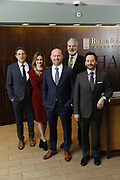 SHOT 1/8/19 12:13:43 PM - Bachus & Schanker LLC lawyers James Olsen, Maaren Johnson, J. Kyle Bachus, Darin Schanker and Andrew Quisenberry in their downtown Denver, Co. offices. The law firm specializes in car accidents, personal injury cases, consumer rights, class action suits and much more. (Photo by Marc Piscotty / © 2018)