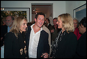 CAMILLA ALEXANDRA; FRED SCALA; ANNABELLE BOWMAN-SHAW, Mim Scala, In Motion, private view. Eleven. Eccleston st. London. 9 October 2014.