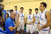 ATENE 18 GIUGNO 2012<br /> GRECIA B - NAZIONALE SPERIMENTALE<br /> NELLA FOTO LUCA DALMONTE<br /> FOTO CIAMILLO