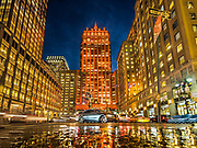 The Helmsley Building, NYC, appears in orange color.