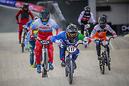 #117 (FANTONI Giacomo) ITA at Round 2 of the 2019 UCI BMX Supercross World Cup in Manchester, Great Britain