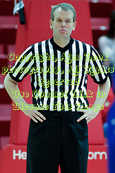 31 December 2014:  Randy Heimerman during an NCAA Division 1 Missouri Valley Conference (MVC) men's basketball game between the Indiana State Sycamores beat the Illinois State Redbirds 63-61 at Redbird Arena in Normal Illinois