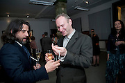 PAUL FRYER; WOLFE LENKIEWICZ, DESCENT OF MAN. WOLFE LENKIEWICZ . collectors and patrons dinner. 1 MELTON ST. NW1. CHAMPAGNE RECEPTION AND DINNER