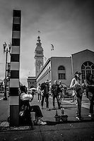 Trumpet Player, Embarcadero