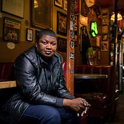 Ally Vyne, hip-hop artist in Washington, D.C. John Boal Photography
