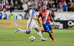 September 1, 2017 - Harrison, NJ, USA - Harrison, N.J. - Friday September 01, 2017:   Tim Ream during a 2017 FIFA World Cup Qualifying (WCQ) round match between the men's national teams of the United States (USA) and Costa Rica (CRC) at Red Bull Arena. (Credit Image: © John Dorton/ISIPhotos via ZUMA Wire)