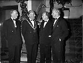 1962 - Royal Institution of Naval Architects Dinner at the Gresham Hotel, Dublin