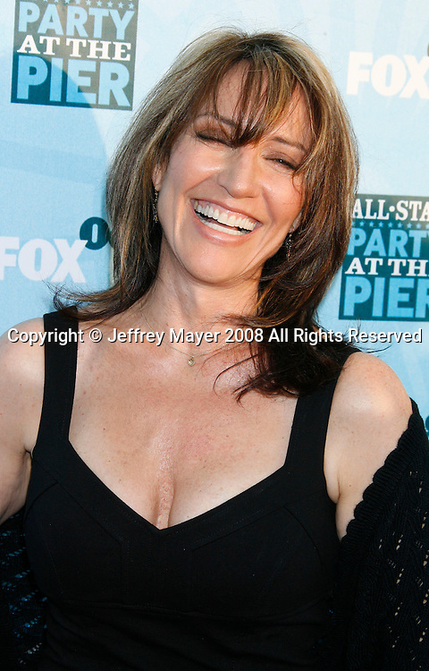 Actress Katey Sagal arrives at the Fox All-Star Party At The Pier at the Santa Monica Pier on July 14, 2008 in Santa Monica, California.