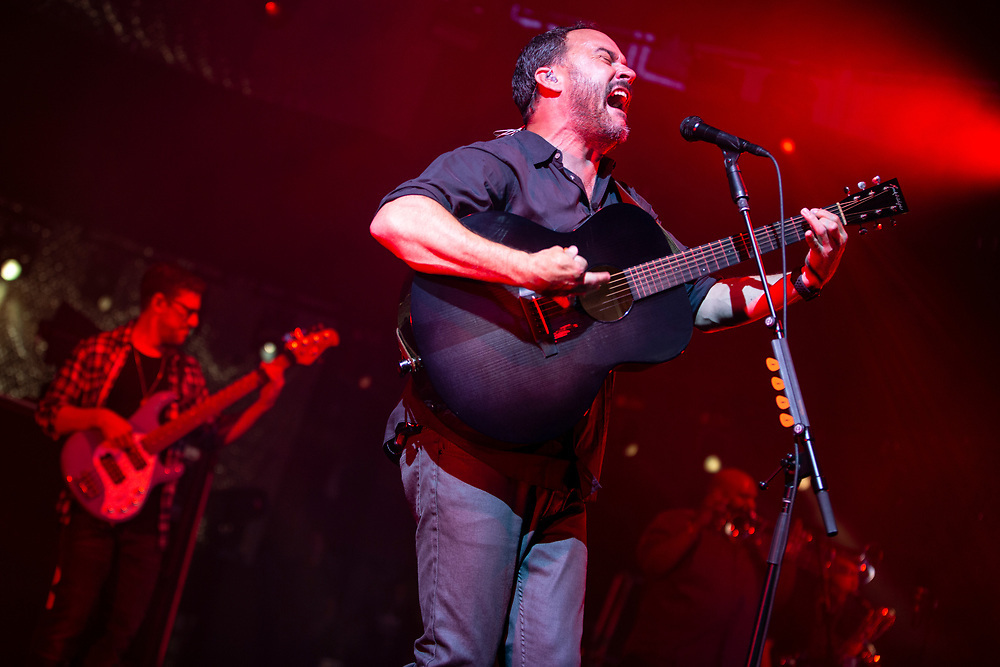 The Dave Matthews Band performing at Alpine Valley in Elkhorn, WI on July 5, 2019.