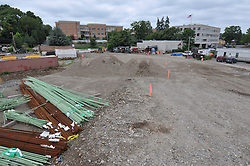Construction Progress Railroad Station Fairfield Metro Center - Site visit 25 of once per month periodic photography