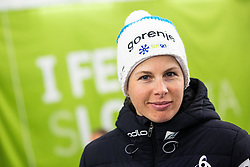 Vesna Fabjan (SLO) during the Ladies sprint free race at FIS Cross Country World Cup Planica 2019, on December 21, 2019 at Planica, Slovenia. Photo By Peter Podobnik / Sportida