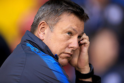 """Leicester City manager Craig Shakespeare before the Carabao Cup, Second Round match at Bramall Lane, Sheffield. PRESS ASSOCIATION Photo. Picture date: Tuesday August 22, 2017. See PA story SOCCER Sheff Utd. Photo credit should read: Tim Goode/PA Wire. RESTRICTIONS: EDITORIAL USE ONLY No use with unauthorised audio, video, data, fixture lists, club/league logos or """"live"""" services. Online in-match use limited to 75 images, no video emulation. No use in betting, games or single club/league/player publications."""